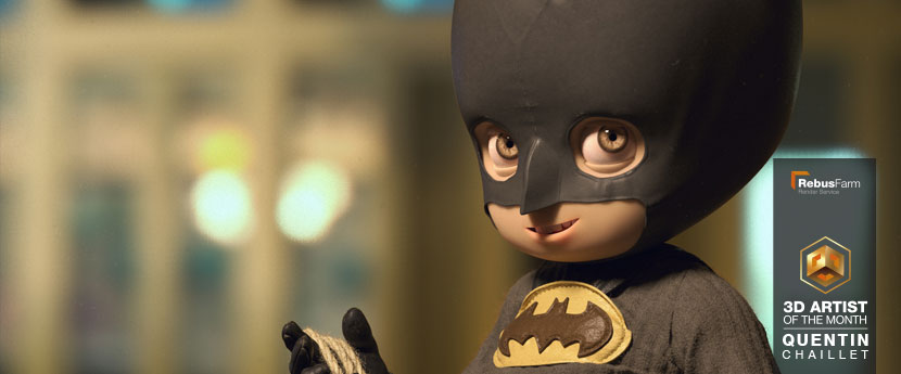 Character design | Little Batman | Quentin Chaillet